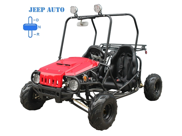 Jeep Auto Red
